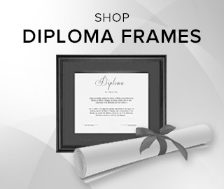 Picture of diplomas. Click to shop Diploma Frames.