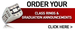 Order your class rings & graduation announcements. Click here to go to the Josten's website to order
